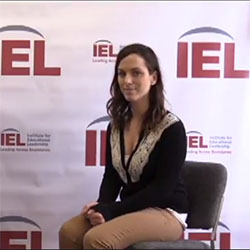 IEL Program Associate Carley Fahey discusses the value of youth leadership and advocacy.