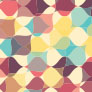 Patterns of Practice Icon: overlapping pastel geometric shapes form a pattern