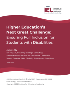 Cover of Higher Education's Next Great Challenge