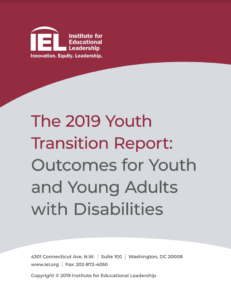 Cover of the 2019 Youth Transition Report
