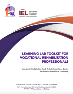Cover of the Learning Lab Toolkit for Vocational Rehabilitation